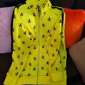 Nwot Jeffrey Star 🌟 track suit jacket xl